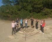 land art- team building